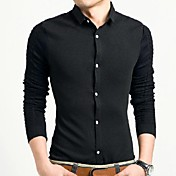Casual Camisa Moda de alta calidad de manga larga para Hombres