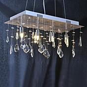 Lámparas Araña ,  Tradicional/Clásico Cromo Característica for Cristal Metal Sala de estar Comedor Hall