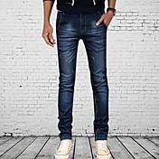 Retro/Ležérní/Práce MEN - Jeans ( Bavlna )