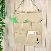 Bolsas de Almacenamiento / Perchas Textil / Madera con 1pc/opp bag , Característica esPara Joyas / Corbatas / Ropa Interior