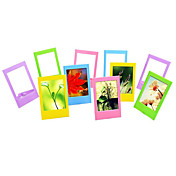 3 pulgadas marcos vector Photo / mini marcos para Fujifilm Instax Mini 8 / 7s / 90/25/50/70 películas, 10 pack
