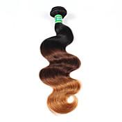 Ombre Cabello Brasileño Ondulado Grande 6 Meses 1 Pieza los tejidos de pelo