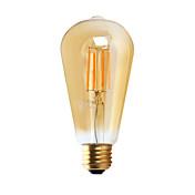 1 pieza GMY E26 3W 4 COB ≥300 lm Blanco Cálido ST21 edison Cosecha Bombillas de Filamento LED AC 110-130 V
