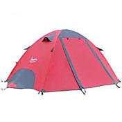 DesertFox® 2 Personas Tienda Doble Carpa para camping Secado rápido Resistente a la lluvia 2000-3000 mm para Camping CM Una Habitación
