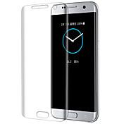 Para samsung s7edge cobertura de pantalla completa de alta definición de protección de la pantalla del teléfono móvil película de vidrio