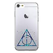 Para iPhone X iPhone 8 Carcasa Funda Ultrafina Diseños Cubierta Trasera Funda Diseño Geométrico Suave TPU para Apple iPhone X iPhone 8