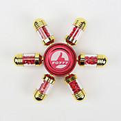Fidget spinners Hilandero de mano Juguetes Six Spinner Metal Plástico Latón EDCAlivio del estrés y la ansiedad Juguetes de oficina Por