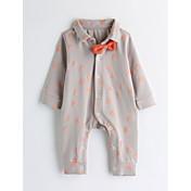 Una Pieza Bebé Estampado Algodón Manga Larga Primavera/Otoño
