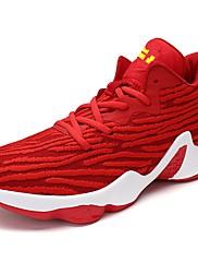 Pánské Obuv PU Jaro Podzim Pohodlné Atletické boty Šněrování Pro Sportovní Šedá Červená Černobílá Námořnická modř