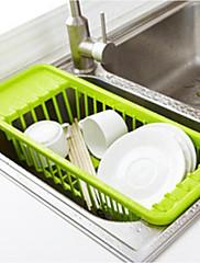 1 Cozinha Plástico Titulares de panelas