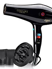 secador de cabelo homens e mulheres 110v - 240v temperatura ajustável proteção de desligamento regulação da velocidade do vento