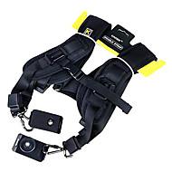 רצועת כתף כפולה  CADEN עבור 2 מצלמות SLR ו DSLR