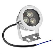 9W Lâmpada Subaquática 3 LED de Alta Potência 800 lm Branco Frio Impermeável AC 12 V
