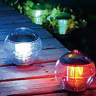 Solar Power Ændre Farve LED Floating Light Ball Lake Pond Pool Lamp (CIS-57230)