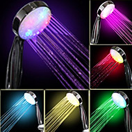 Veden virtaus Sähköntuotanto Asteittainen värinvaihto LED Käsisuihku