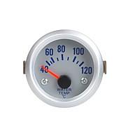 מד מד טמפרטורת מים עם חיישן לרכב אוטומטי 2 52mm 40 ~ 120Celsius תואר אור כתום