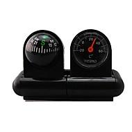 Auto-käytetyt Lämpömittari ja kompassi 2 in One