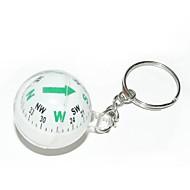 pallo style kompassi avaimenperä valikoituja väri
