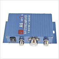 amplificateur stéréo a6 180w salut-fi pour voiture / moto bleu