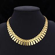 Pentru femei Coliere Choker Guler Coliere Vintage Bijuterii Placat cu platină Placat Auriu Bijuterii Statement costum de bijuterii