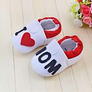 Jungen Mädchen Baby Flache Schuhe Stoff Frühling Herbst Normal Kleid Flacher Absatz Weiß Flach