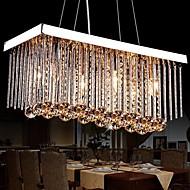 Lustres ,  Contemprâneo Tradicional/Clássico Cromado Característica for Cristal MetalSala de Estar Quarto Sala de Jantar Quarto de