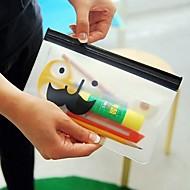 mr.beard läpinäkyvä säilytyspussi paperitavarat laukku satunnainen toimitus