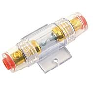 plaqué f001 amplificateur de voiture en ligne 60a or agu porte-fusible (1pcs)