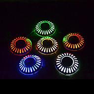 solární sekačky světla cesta země silnice paluba světla UFO