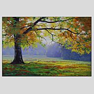 Ručno oslikana Cvjetni / BotaničkiModerna / Europska Style Jedna ploha Platno Hang oslikana uljanim bojama For Početna Dekoracija