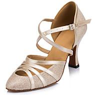 Προσαρμόσιμα - Λατινικοί - Παπούτσια Χορού - με Τακούνι Στιλέτο - από Αστραφτερό Γκλίτερ - για Γυναικεία