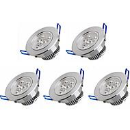 3W Lumini Recessed 3 LED Putere Mare 350 lm Alb Cald Alb Rece AC 100-240 V 5 bc