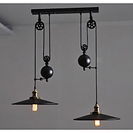 Riipus valot ,  Retro Maalaus Ominaisuus for Minityyli MetalliLiving Room Makuuhuone Ruokailuhuone Kitchen Työhuone/toimisto Lastenhuone