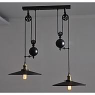 Privjesak Svjetla ,  Retro Painting svojstvo for Mini Style MetalLiving Room Bedroom Dining Room Kitchen Study Room/Office Dječja soba