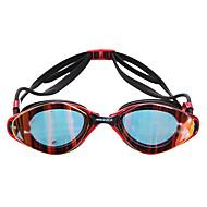 MESUCA 수영 고글 안티 - 안개 방수 조정가능한 사이즈 실리카 겔 PC 핑크 블랙 블루 핑크 블랙 블루