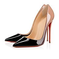 レディース 靴 エナメル 春 夏 秋 ベーシックサンダル スティレットヒール 用途 結婚式 カジュアル パーティー ピンク ピンク