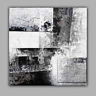 Ручная роспись АбстракцияModern 1 панель Холст Hang-роспись маслом For Украшение дома