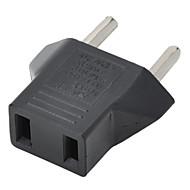 Amerikaanse stekker aan de EU-stekker adapter - zwart