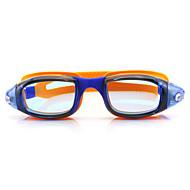 FEIUPE 수영 고글 여성의 / 남성의 / 유니섹스 안티 - 안개 / 방수 / 조정가능한 사이즈 / 안티 UV 실리카 겔 PC 블랙 / 라이트 핑크 / 오렌지 블랙 / 블루 / 라이트 핑크 / 라이트 블루