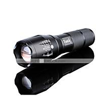 פנס LED LED 3000 Lumens 5 מצב קריס XM-L2 18650 AAA מיקוד מתכוונן עמיד לחבטות אחיזה נגד החלקה נטענת עמיד במים מתח גבוה Zoomable Strike