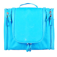 洗面用具バッグ 防水 小物収納用バッグ のために 防水 小物収納用バッグ ファブリック-グレー レッド グリーン ブルー