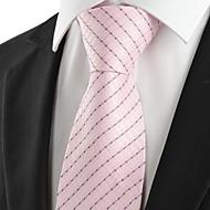 עניבה-פסים(ורוד,פוליאסטר)