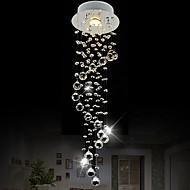 Lumini pandantiv ,  Modern/Contemporan Crom Caracteristică for Cristal Stil Minimalist CristalSufragerie Dormitor Bucătărie Baie Cameră