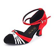 Dansesko(Sølv Guld) -Kan tilpasses-Personligt tilpassede hæle-Damer-Moderne Ballet