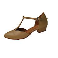 Szabványos méret-Alacsony-Szatén / Műbőr-Latin / Swing-cipők / Salsa / Samba-Női