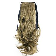 noir usine de 50cm de longueur vente directe de type bind prêle friser les cheveux queue de cheval (couleur 68)