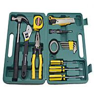 caixa de ferramentas de hardware (15 peças)