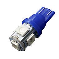10 x ultra blue T10 5-SMD 5050 Vnitřní LED žárovky W5W 2825 158 192 194 168