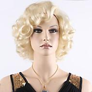 Damen Synthetische Perücken Kappenlos Kurz Lockig Blondine Halloween Perücke Karnevalsperücke Natürliche Perücke Kostüm Perücken