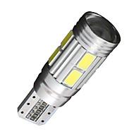 2x CANbus klín T10 bílá 192 168 194 W5W 10 5630 SMD LED chyba světlo žárovka zdarma 12v
